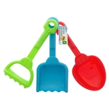 3Pc Beach Tool Set - 1