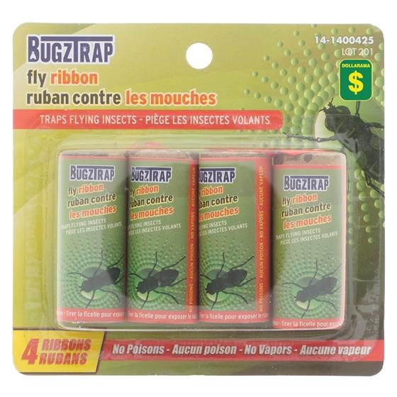 4PK Sticky Fly Ribbon