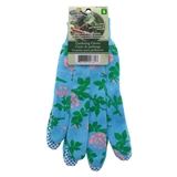 Floral Cotton Garden Gloves - 1