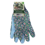 Floral Cotton Garden Gloves - 2