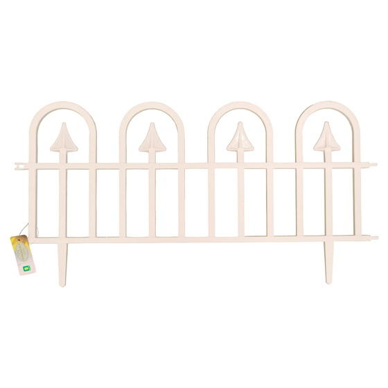 Arrow Design Plastic Garden Fence