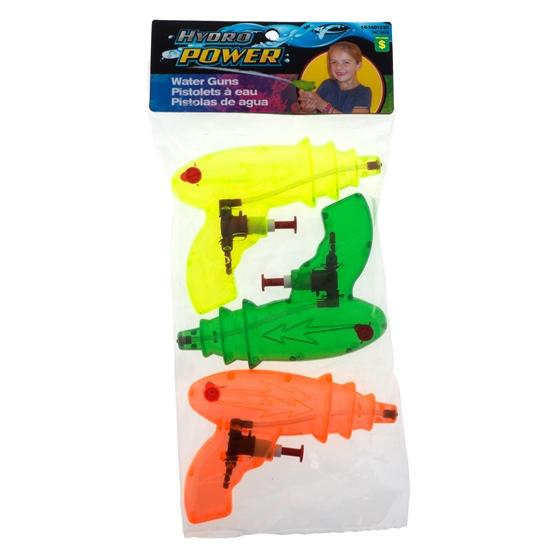 Paquet de 3 mini fusils à l'eau