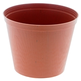 Textured Plastic Flower Pots (Assorted Dimensions) - 1