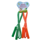 2Pk Fabric Jump Rope With Plastic Handles - 1