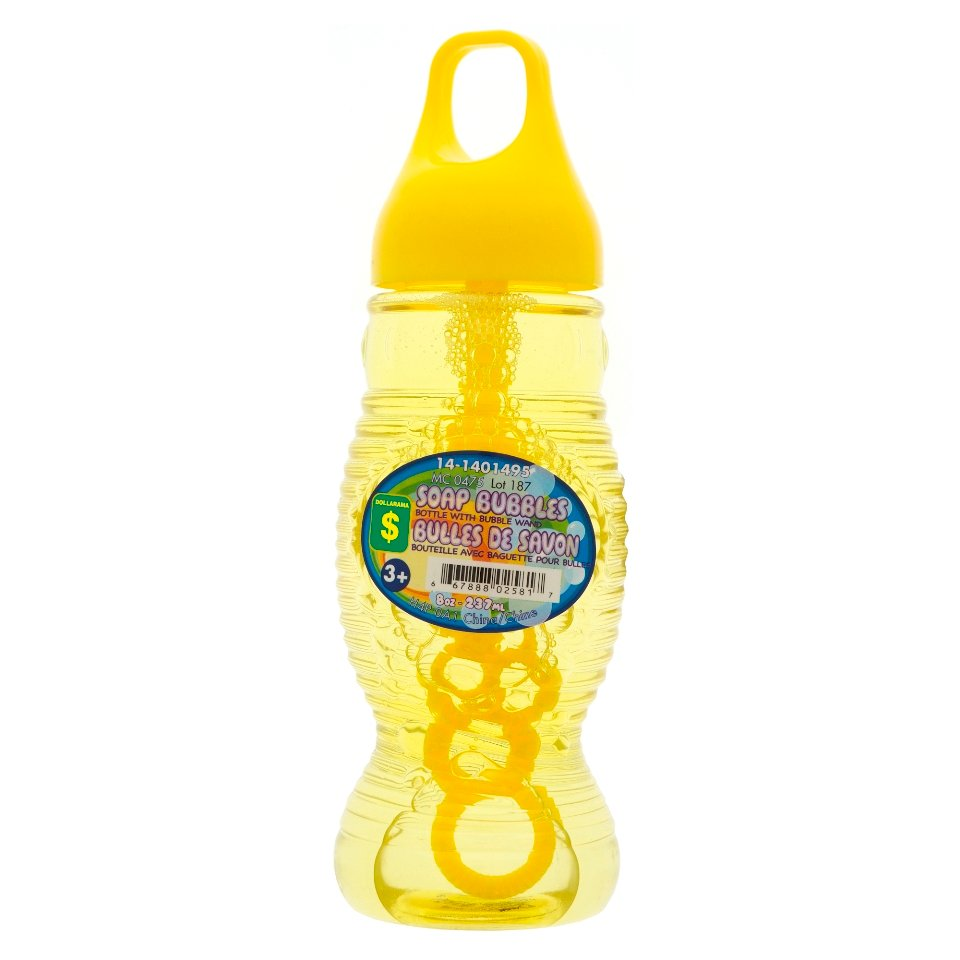 Soap Bubble Bottle with Bubble Wand