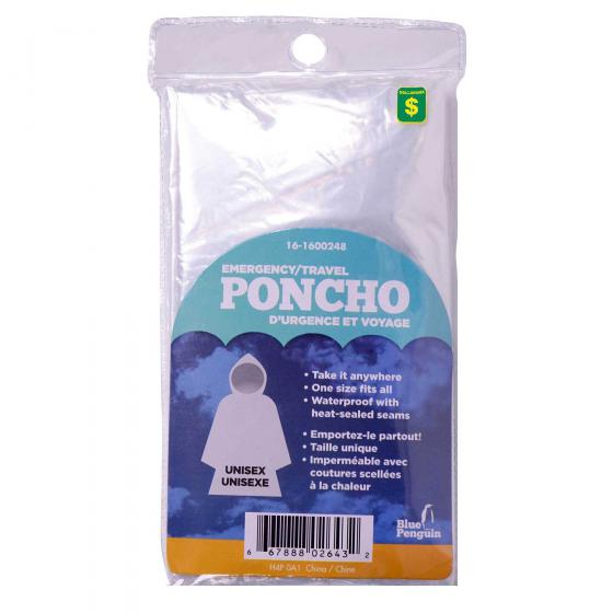 Travel / Emergency Poncho