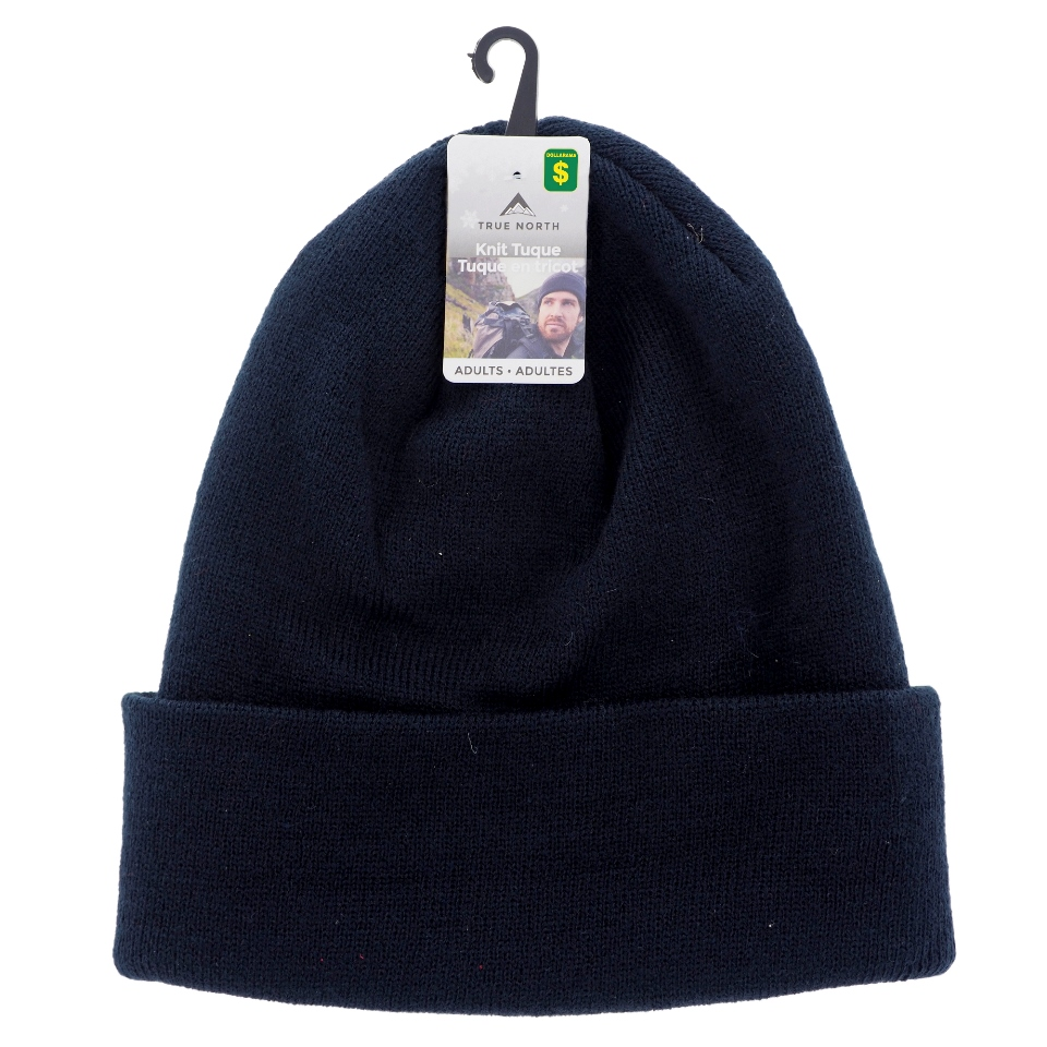 Men's Acrylic Tuques with Cuff