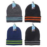 Tuque en tricot d'acrylique pour garçons - 2