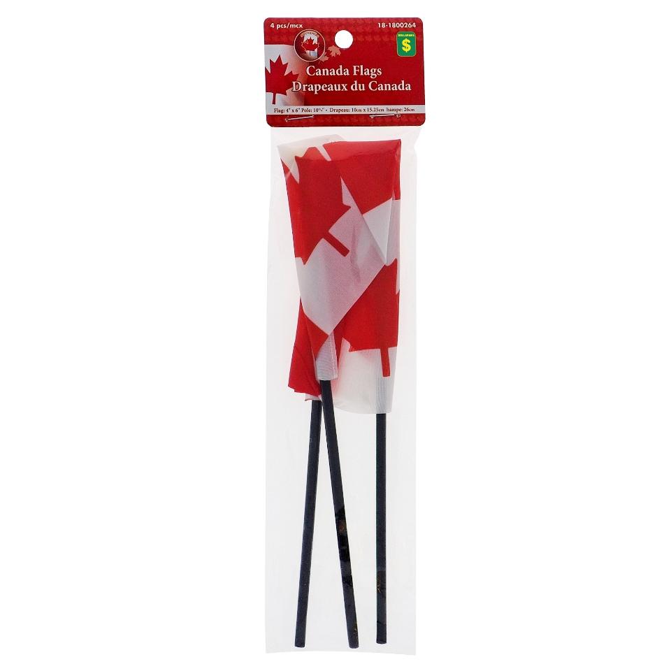 4PK Canada Flag on Pole