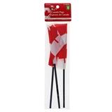 4PK Canada Flag on Pole - 0