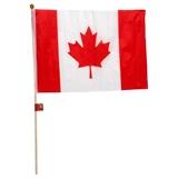 """Drapeau du Canada avec pôle 12"""" x 18"""" - 0"""