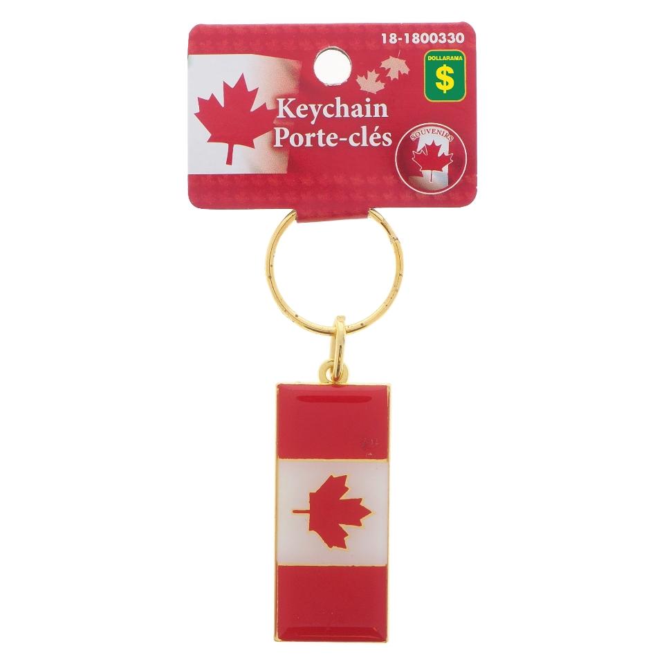 Porte-clés en métal souvenir du Canada