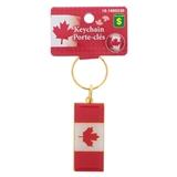 Porte-clés en métal souvenir du Canada - 0