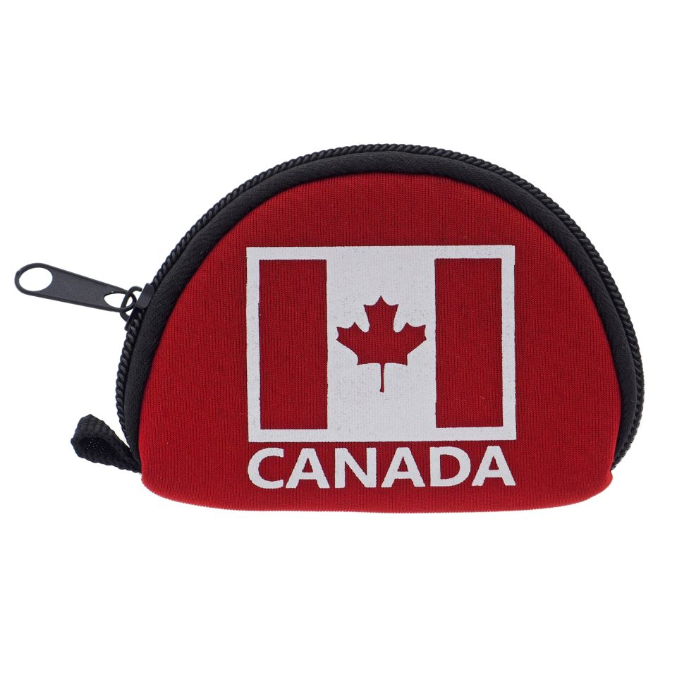 """Canada"" Zippered Coin Holder"