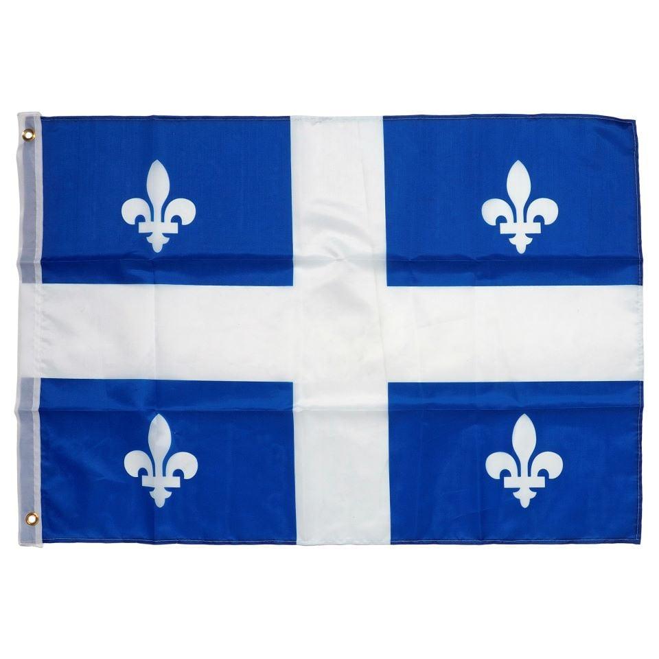 "Quebec Flag 24 x 36"""