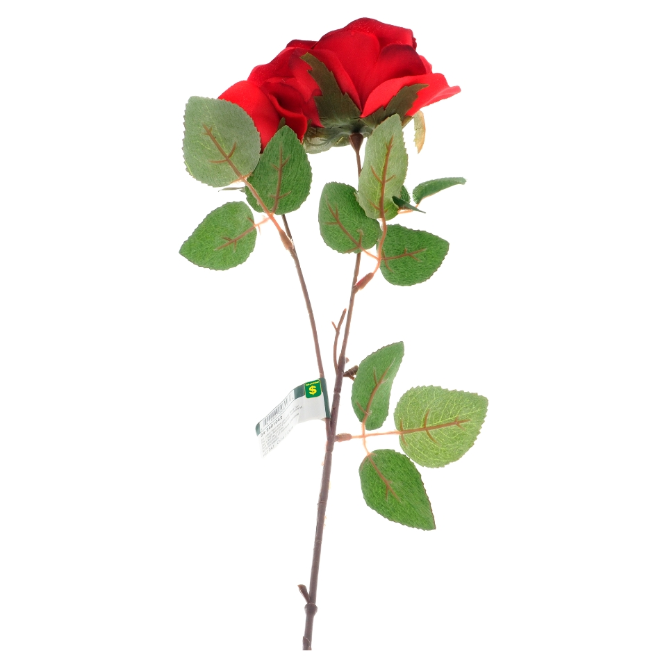Artificial Long Stemmed Rose (Assorted Colours)