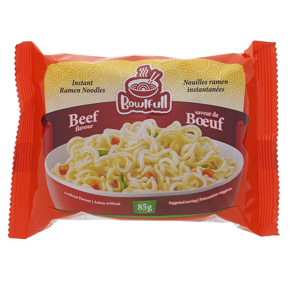 Instant Beef Flavour Noodle Soup - Case of 48