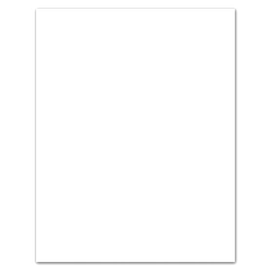 Feuille de tableau blanc Bristol