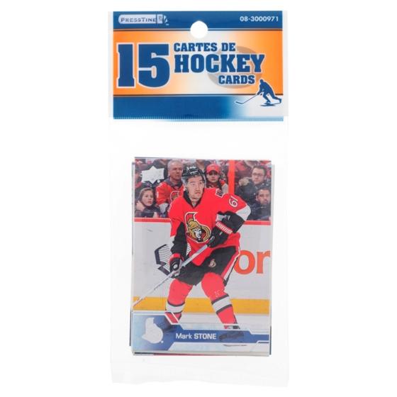 15 Cartes échangeables de Hockey