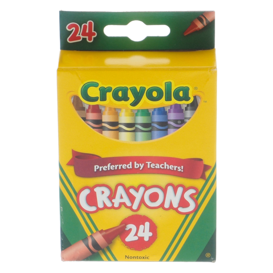 24 Crayons de cire