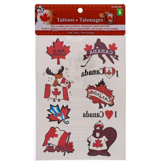 Canada Souvenirs Tattoos
