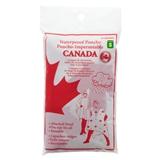 Poncho pour adulte souvenir du Canada - 0