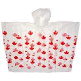Poncho pour adulte souvenir du Canada - 1