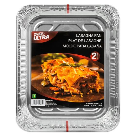 2 Plats à lasagnes