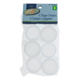 Storage Containers 6PK and 8PK (Assorted Sizes) - 0