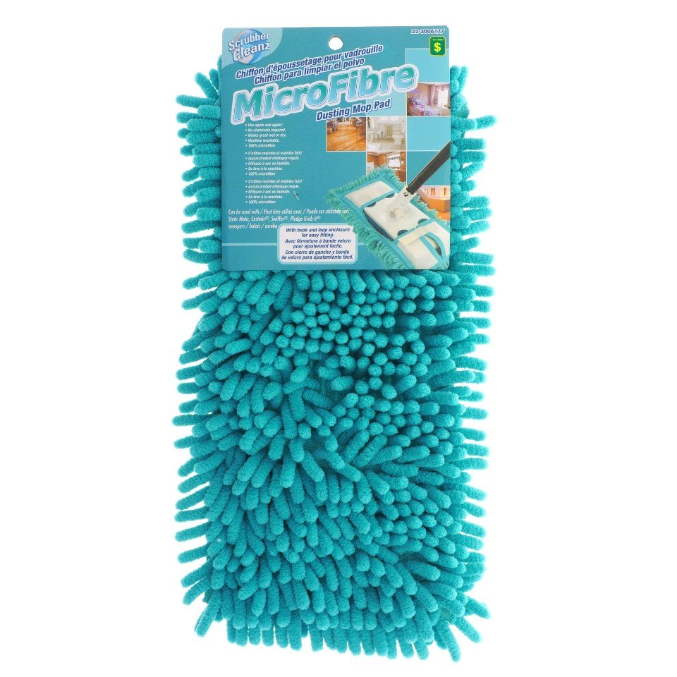 Microfibre Dusting Mop Pad