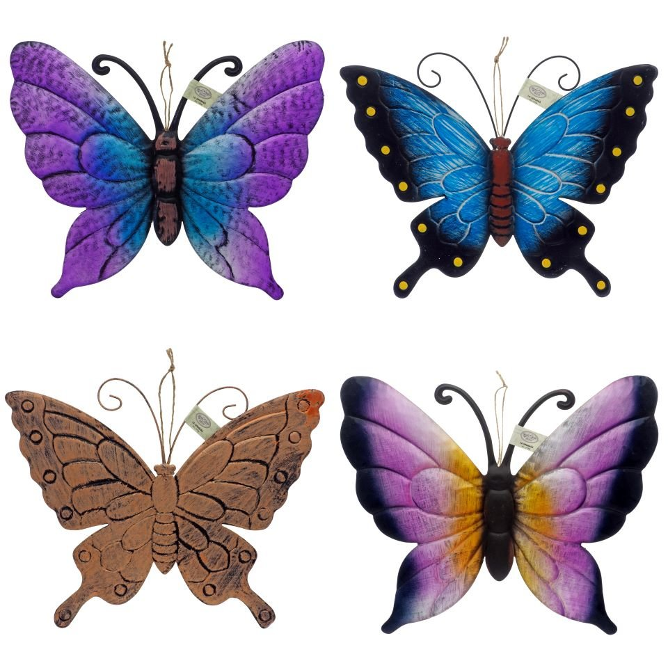 Metal Butterfly Garden Decoration