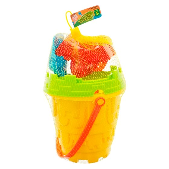 Assorted Beach Toy Set with Pail and Accessories