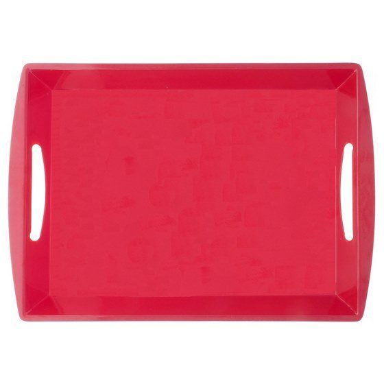 Rectangular Tray with Handles (Assorted colours)
