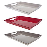 Rectangular Tray with Handles (Assorted colours) - 2