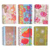 Spiral Notebook with elastic (Assorted styles) - 1