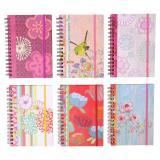Spiral Notebook with elastic (Assorted styles) - 2