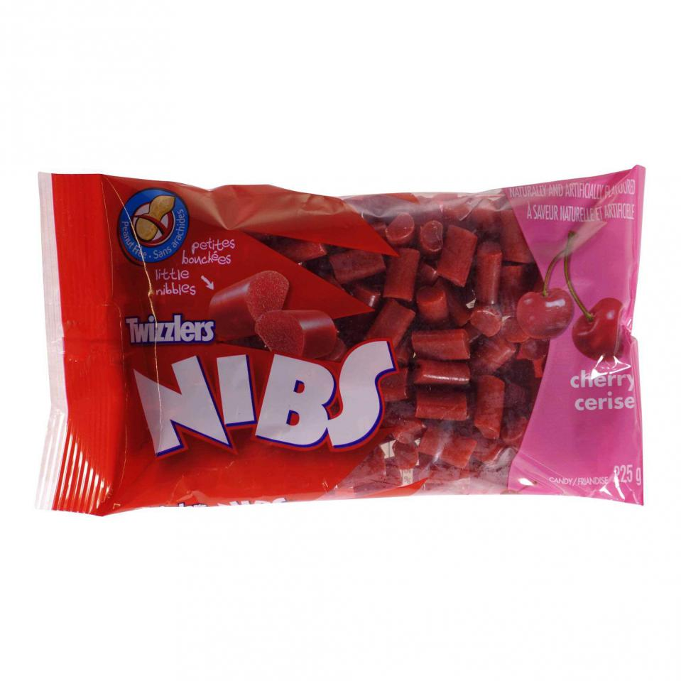Cherry NIBS Candies