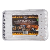 3PC Slotted Aluminum BBQ Tray - 0