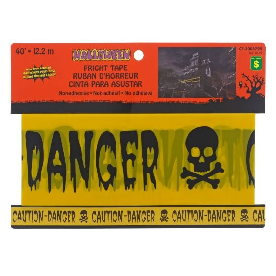 Ruban d'horreur Danger / Caution