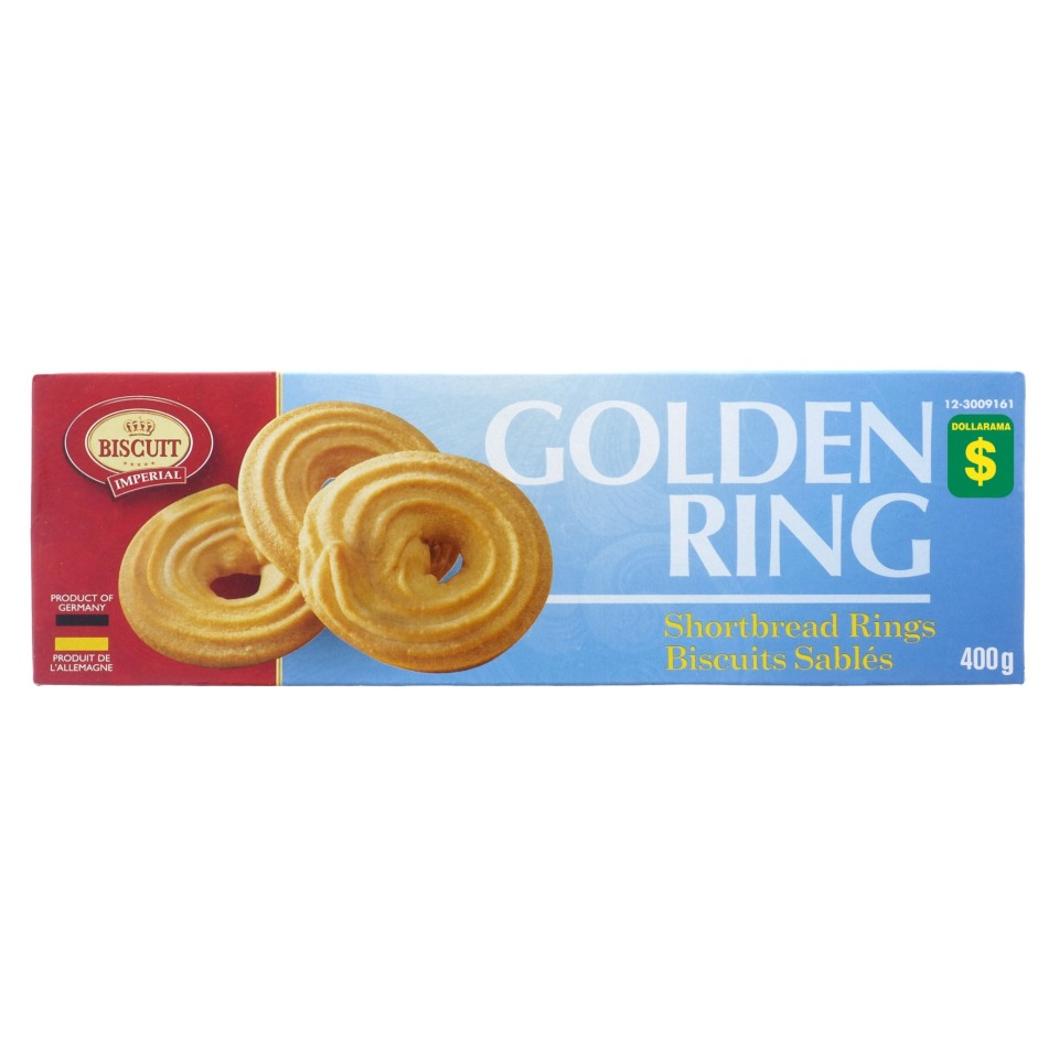 GOLDEN RING Shortbread Rings