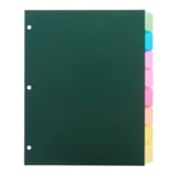 Index Dividers 8PK (Assorted Colours) - 1
