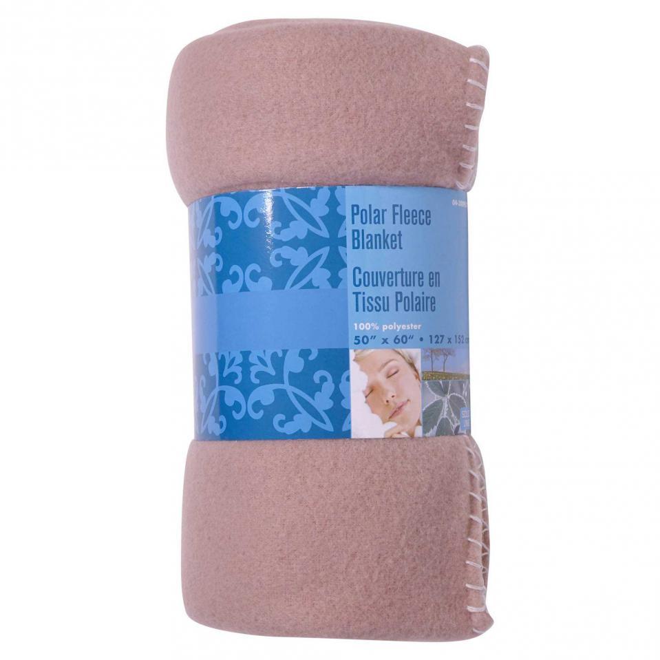 Couverture en tissu polaire (Couleurs assorties)