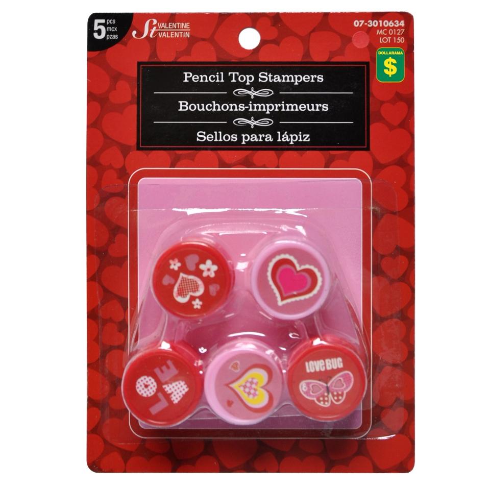5Pk Valentines Stampers