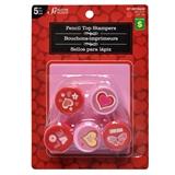 5Pk Valentines Stampers - 0