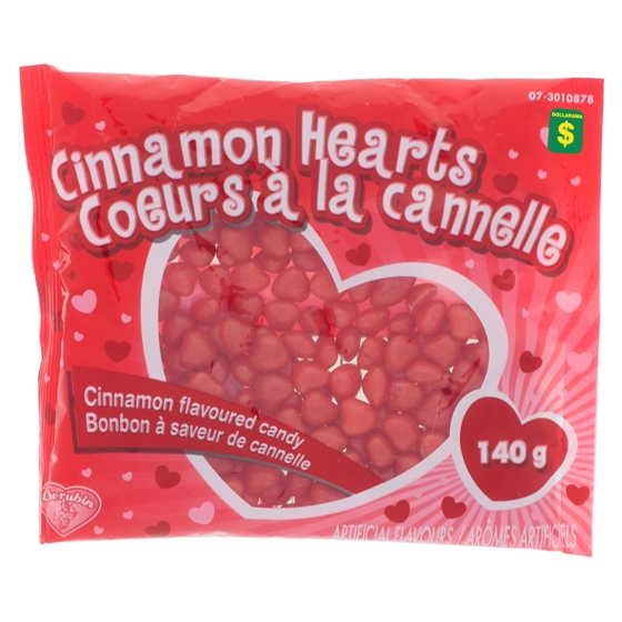 Cinnamon Heart Candy