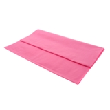 Rectangular Hot Pink Plastic Table Cover - 1