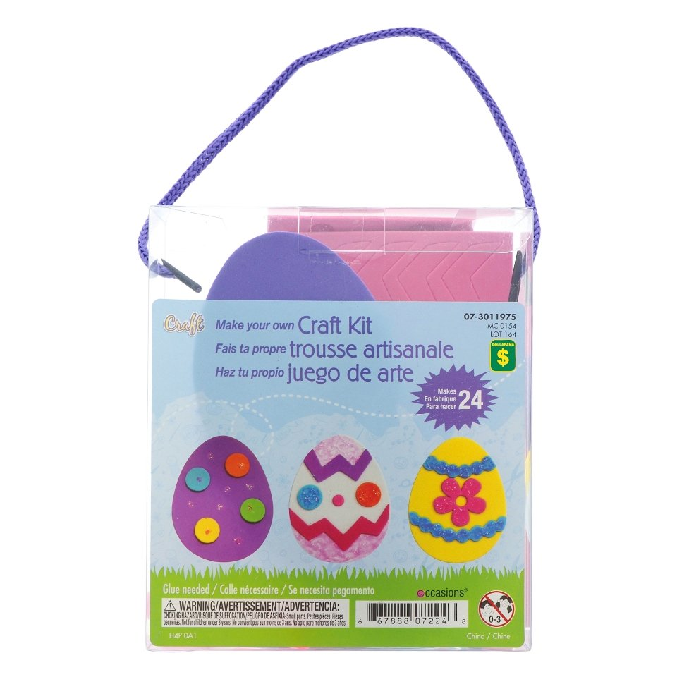 Easter Craft Kit (Assorted Designs and Colours)
