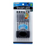 6PK Ballpoint Pens (Assorted colours) - 0