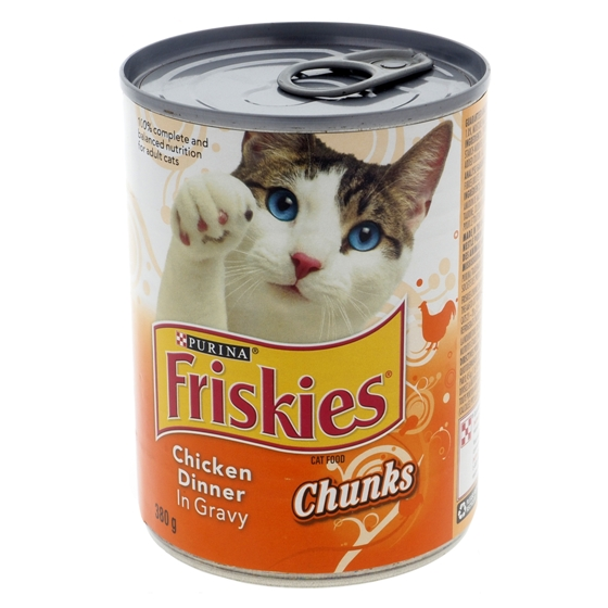 Nourriture pour chats Friskies - Dîner de poulet en sauce