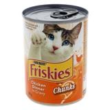 Nourriture pour chats Friskies - Dîner de poulet en sauce - 0